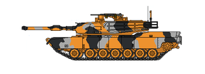 Wolf Federation Tank camo / Sam Abrams by Screamingmaddog5521