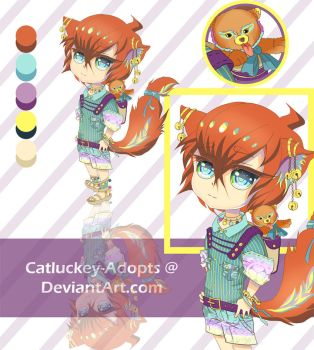 [CLOSED] Toshiaki and Popo [Lowered Price Auction] by Catluckey-Adopts