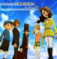 Once again the world of Professor Layton by maki5656