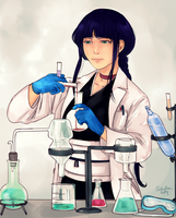 C. - Nemu the Little Scientist by soi-scholla