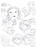 SKETCH DUMP by Fuuthecat