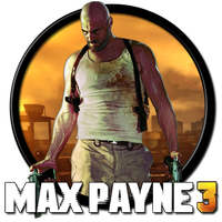Max Payne 3 Icon 1 by habanacoregamer