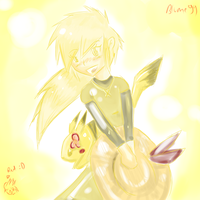 Yellow everywhheeree by KillerBlume