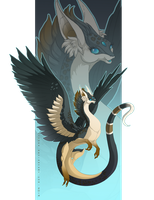 Whisperwind Dragon 2014 by Mythka