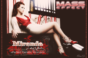 Real Miranda Lawson - Perfect Genetic Woman by Elisa-Gallion