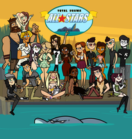 Da: Total Drama All Stars by Hey-Hollywood
