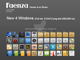 Faenza Icons 4 Windows by fede18