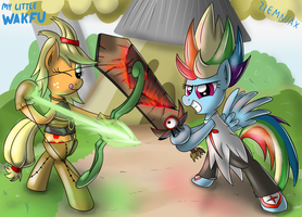 Rainbow Percedal Dash and Evangelynejack by Ziemniax