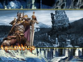Guild Wars Knight Wallpaper by behemoth5876