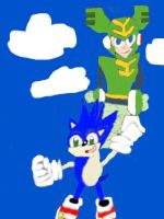 Flying High(Sonic and Tornado Man version) by tanlisette