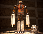 Greek Robot by DRFproductions
