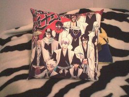 Gotei 13 Bleach Pillow by Okitakehyate