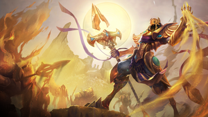 League of Legends: Azir Wallpaper 1920 x 1080 by xXNinjaGaaraXx