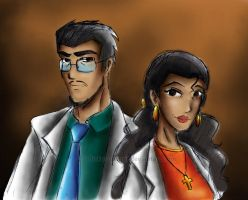Rafael and Violeta Salazar by flickersowner
