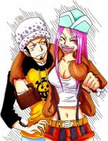 AT-Bonney x Law OP by Moondrophime