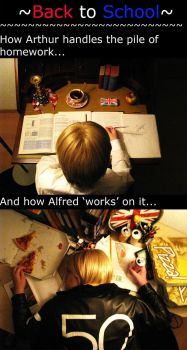USUK - How to study... by Deadpokerface