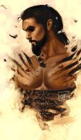 Khal Drogo - Game of Thrones by ToolKitten