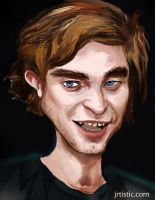 Robert Pattinson from twilight by psmonkey