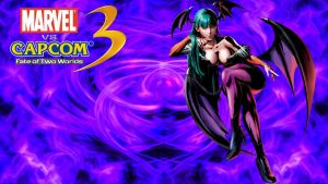MVC3 Morrigan PS3 Wallpaper by WhiteAngel50000
