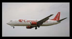 Spotting Boeing 737 Corendon by MarcinG1