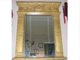 Large Mirror 003 by TrapDoor-Stock