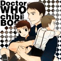 Captain with Kid 10th Doctor and Kid Master by digh211