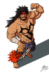 Giant Jecht with transparent background by leomon32