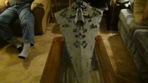 BELLATOR CLASS STAR DESTROYER new lighting bg 3 by THE-WHITE-TIGER