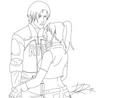 leon and claire contest pic by Foxysuji