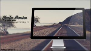 Wallpaper - Train Routes by lMawiihPeace