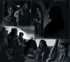 Game of Thrones Sketches by kallielef