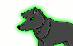 Glowing Wolf by icewormie