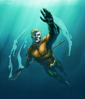 Aquaman by logicfun