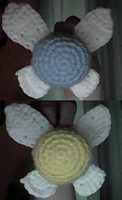 Crochet Navi From Zelda (with Pattern) by DesperateOtter
