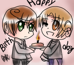 Happy Birthday Italy and Romano! by Miryam123