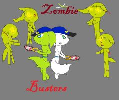 Zombie Busters by SummerTheSkitty