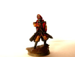 Death Korps of Krieg Commissar by ReinoutJansen