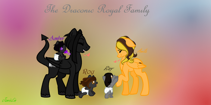 The Draconic Royal Family by Ask-The-Gemsonas-TFP