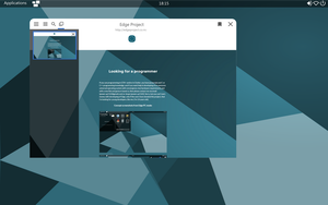 Edge browser concept screenshot 2 by powerup1163