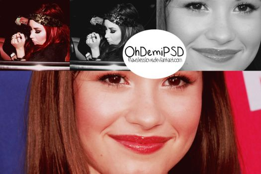 Oh Demi PSD by FlawslessLove