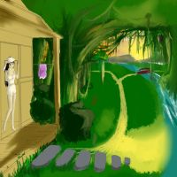 Jungle forrest nature by Animeculture