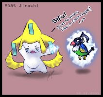 9. December: Jirachi. by Soulfoxii