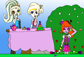 Mad Tea Party by LeannaQua