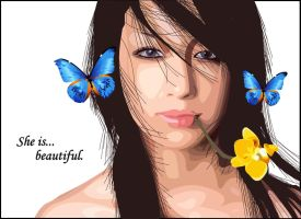 She is... beautiful by maurici0