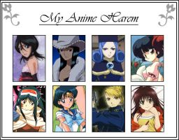 Meme - My Anime Harem by JaviDLuffy