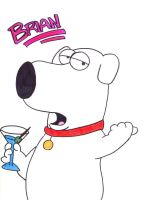Brian Griffin by xDramaFreak2003x