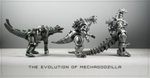 The Evolution of MechaGodzilla by HikaruTV