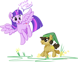 Little Pony, Big Adventure by Khimi-chan
