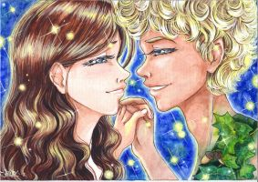 In Neverland [Wendy and Peter] by JolitaSondor