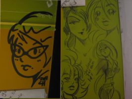 My sketchbook by ChibiCelina